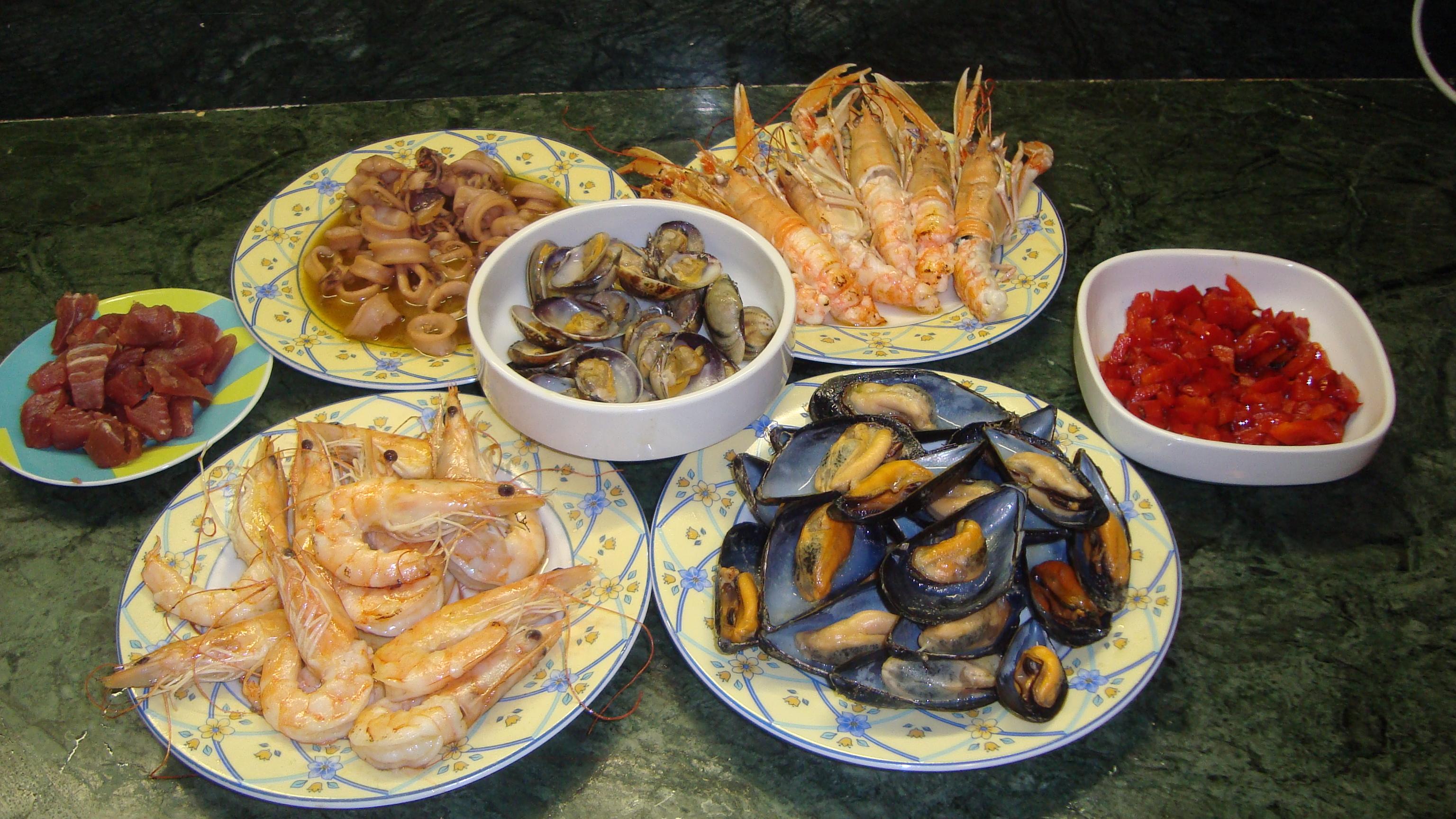 Paella de pescado la cucina di lalla tattoo design bild - Paella de pescado ...