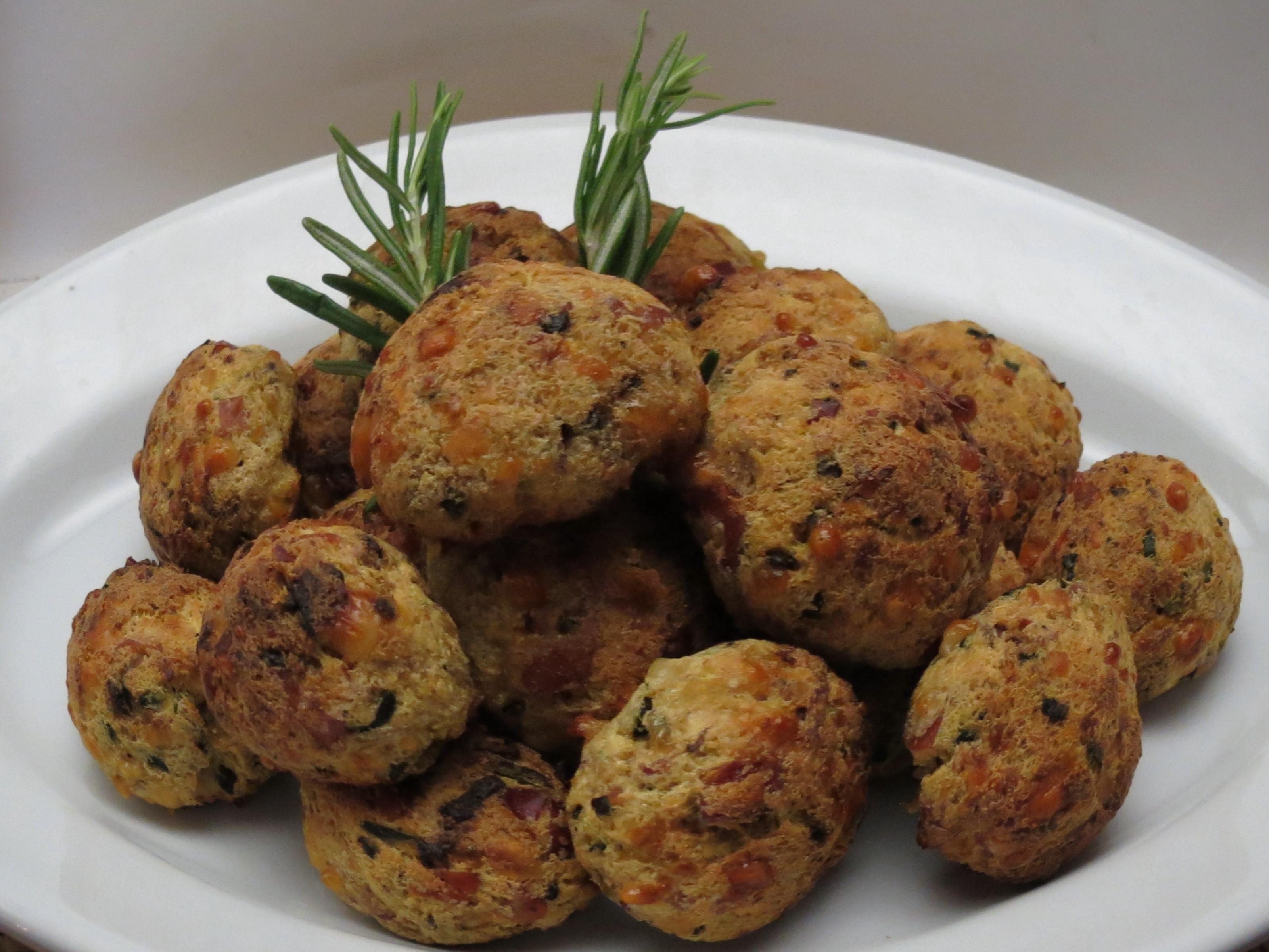Exceptionnel Finger-Food Polpettine Ricotta Speck e Zucchine | La cucina di Lalla EL99